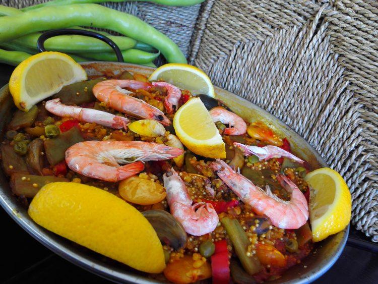 Paella Integral con Quinoa