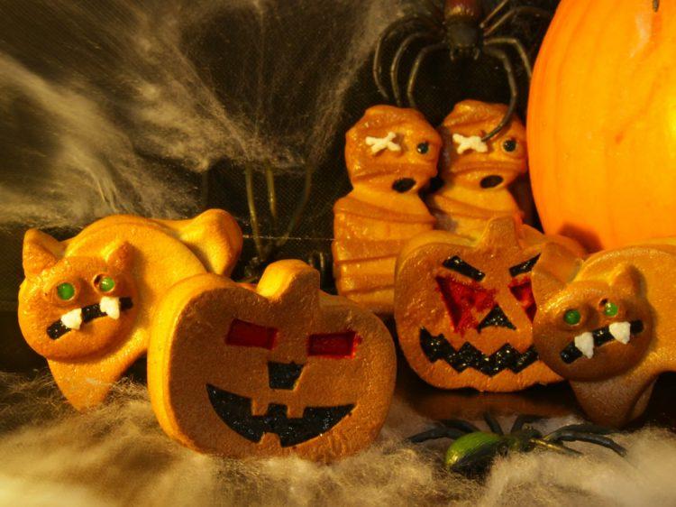 Bizcochitos Fit de Halloween