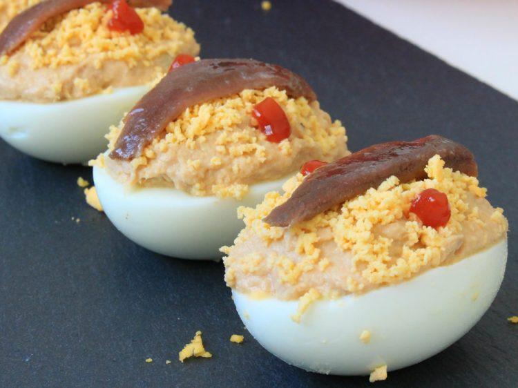 Huevos Rellenos Fit