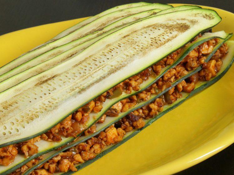 Lasaña Vegetariana de Calabacín y Tofu
