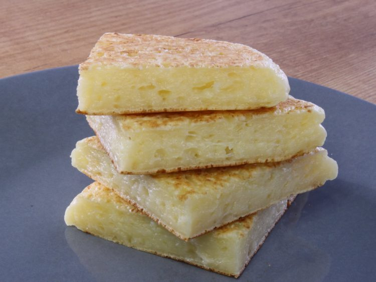 Pan de Queso Fit en Sartén (sin gluten)