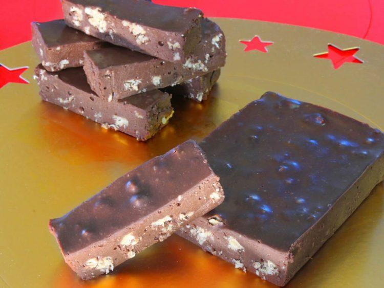 Turrón de Chocolate Proteico