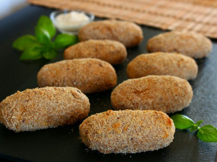 Croquetas Fit de Pollo (al horno)
