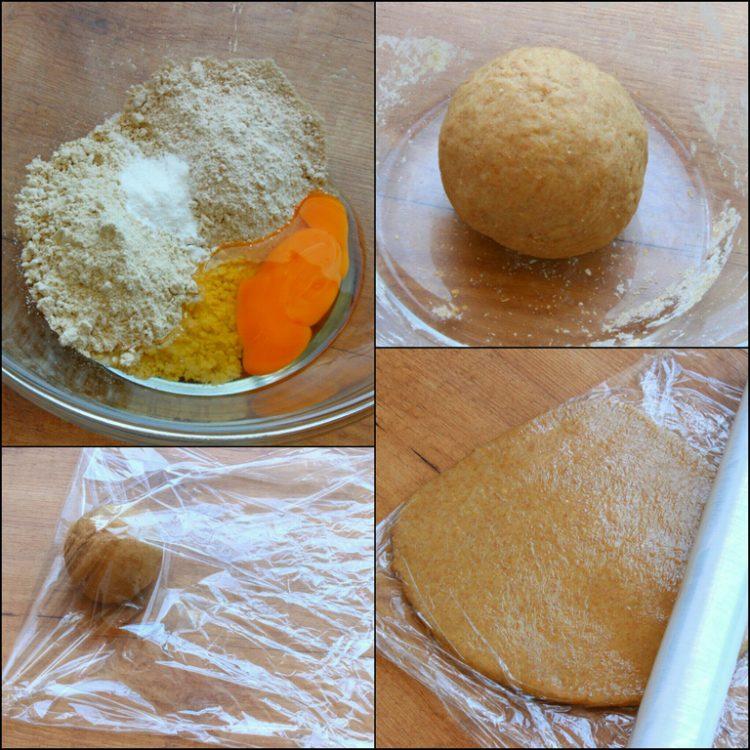 Rollos de Canela Fit al Vapor (Cinnamon Rolls) (preparación de la masa)