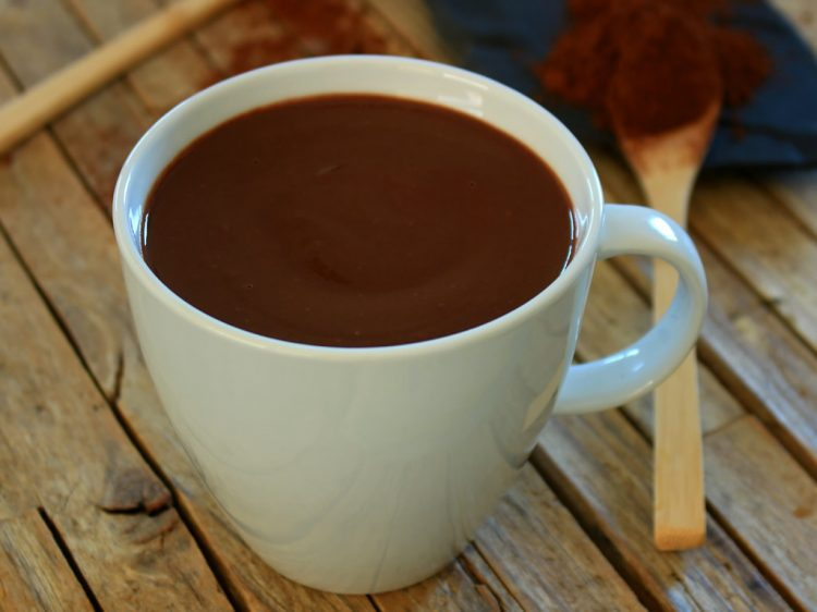 Chocolate a la Taza Fit
