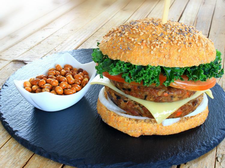 Pan Integral de Zanahoria (para Hamburguesa Fit) (sugerencia de presentación)