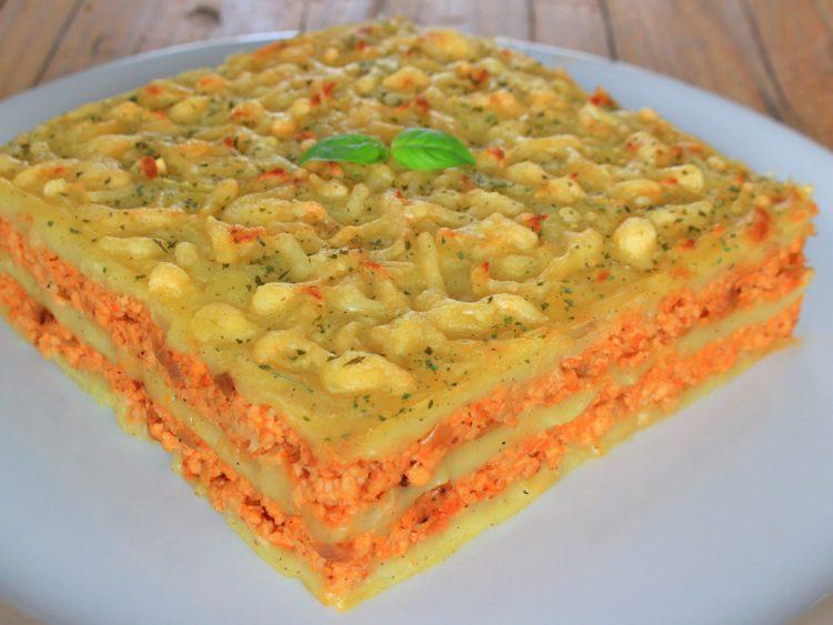 Pastel de Carne y Patata Fit (estilo Lasaña)