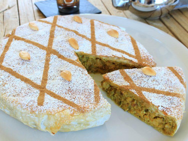 Pastela Marroquí Fit (empanada moruna de pollo y almendras)