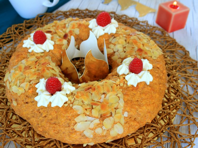Roscón de Reyes Fit (sin azúcar, integral y saludable)